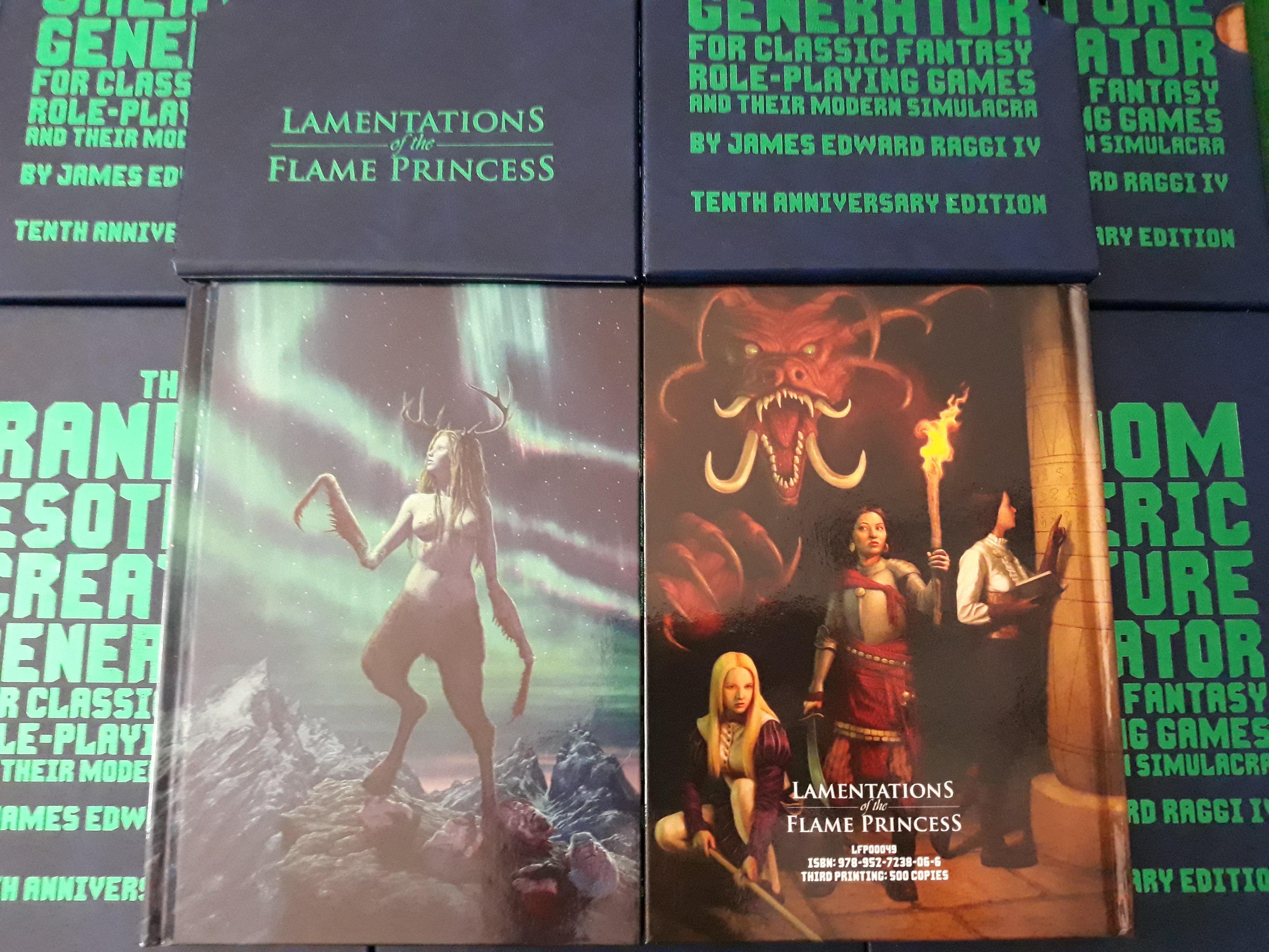 Random Esoteric Creature Generator for Classic Fantasy RPG and Their Modern  Simulacra
